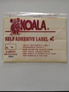 label koala 103